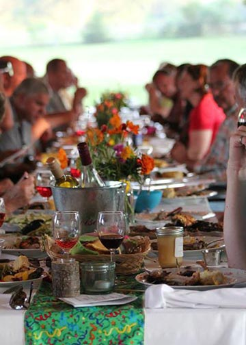 Farm to Table Dinner in Washington Country, MO August 29 2015